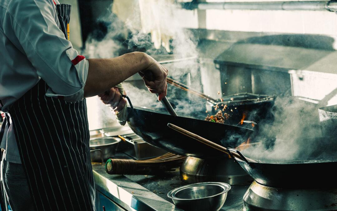 Vi uppgraderar vårt kök till restaurangnivå