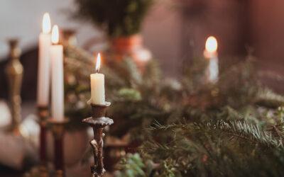 Julbord i medeltida atmosfär